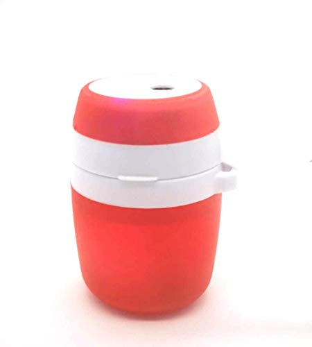 USB-Aromatherapie-Gerät Luftbefeuchter kompakte Kapazität große Steckdose - rot -