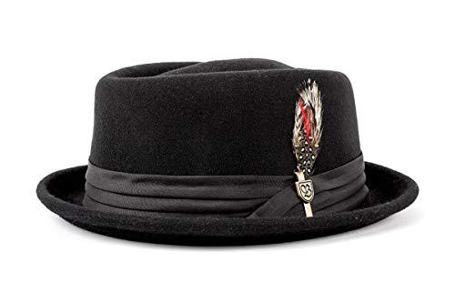 (Brixton Hat STOUT black/black, M BRIMHATSTO)