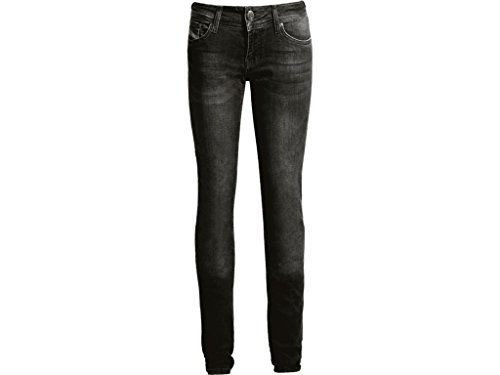 John Doe Hose Pants Betty High Jeans Black-W29-L32