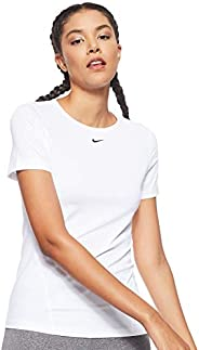 Nike Women's Np Top Ss All Over Mesh T-S