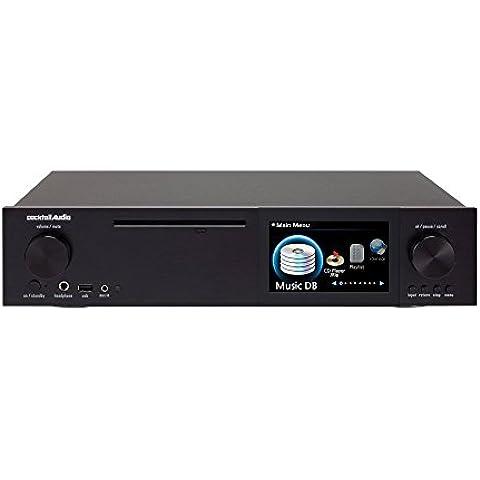 Cocktail Audio 2.1 AV-Receiver X40 x negro Internetradio, USB