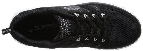 Skechers Flex Advantage Tune In, Sneaker uomo Nero (Black/white)
