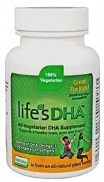 Martek Life's DHA Omega-3 DHA 100mg 90 All-vegetarian Softgels Kids by Martek (English Manual)
