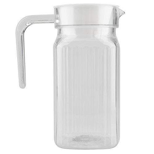 Jarra acrílico frigorífico tapa asa, botella zumo