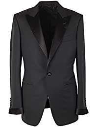 CL - TOM FORD O'Connor Black Tuxedo Suit Smoking Size 48 / 38R U.S. Fit Y