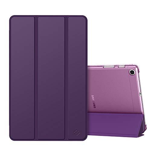 Fintie Hülle kompatibel mit Samsung Galaxy Tab A 10,1 SM-T510/T515 2019 - Ultradünn Schutzhülle mit transparenter Rückseite Abdeckung Cover für Samsung Galaxy Tab A 10.1 Zoll 2019 Tablet, Lila