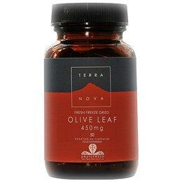 Terra Nova - feuille d'olive 450mg, 50 capsules