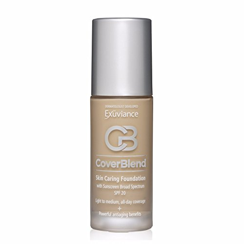 Exuviance Skin Caring Foundations SPF 20 - 30ml Golden Beige