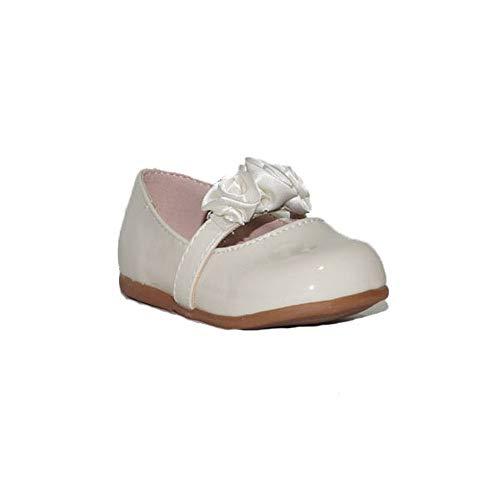 BUBBLE BOBBLE Bailarinas Flores A991 Zapatos Comunión