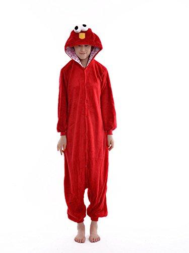 DAYAN-Sesame Street Unisex Adult Cosplay Tier Onesie Pyjama -