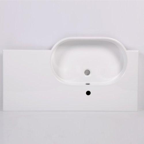 1000 Vanity Unit With Basin For Bathroom Ensuite Luxury