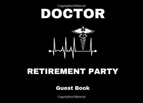 Doctor Retirement Party Guest Book por 1570 Publishing