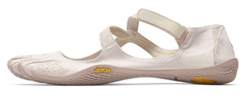 Vibram FiveFingers en V Soul Women + chaussette orteils–Set–Chaussures à orteils de loisirs, pour le fitness femme/bar Chaussures pieds avec chaussettes orteils couleur chair