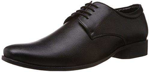 Bata Men's Alfred Black Formal Shoes - 8 UK (8216103)