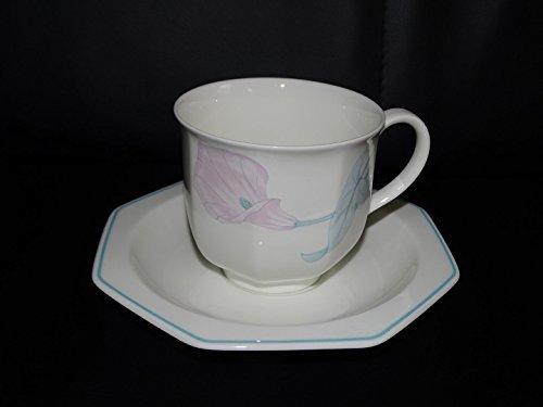 Villeroy & Boch Calla: Kaffeetasse / Tasse mit Unterteller
