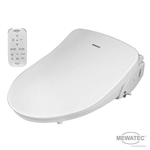 MEWATEC Marken Dusch-WC Aufsatz D700 Bidet Toilettensitz (Wc-bank)