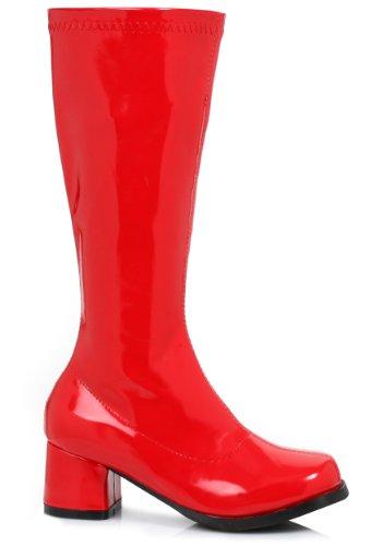 Ellie Shoes 182061 Dora-Red Child Boots (Kostüm Dora Boots Und)