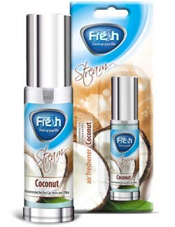 Fresh Way Stream Box Ambientador Spray para Coche (Coco)