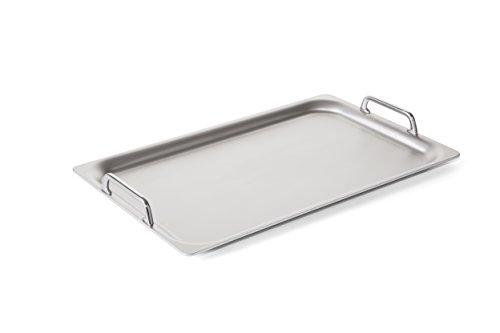 Rieber Teppanyaki 1/1 Grillplatte MADE IN GERMANY für alle Kochstellen geeignet Hocheffiziente...