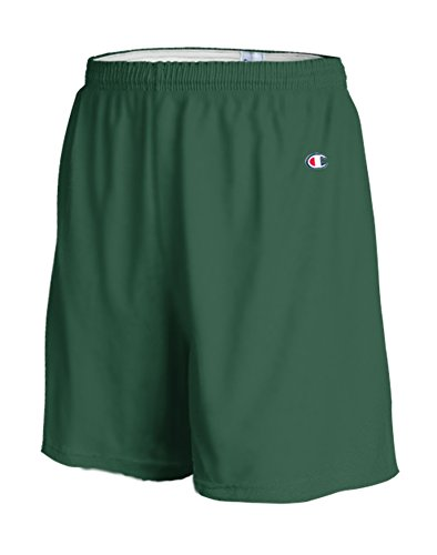 Champion Adult Cotton Gym Shorts Dark Green
