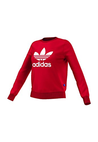 Adidas Crew Sweat-shirt pour femme Vivid Red