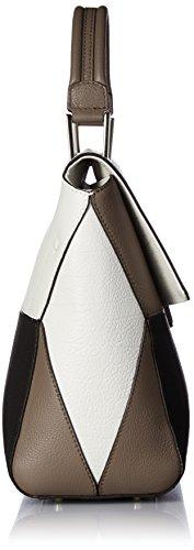 Furla Artesia M Top Handle, Sacs portés main Multicolour (Petalo+Onyx)