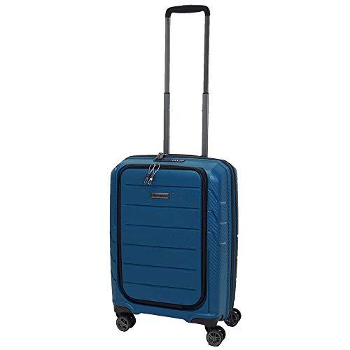 Franky Spinner Gr. S Handgepäck Koffer mit TSA-Zahlenschloss Petrol
