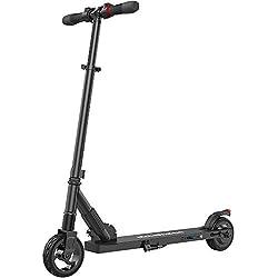 M MEGAWHEELS Elektro Scooter Faltbarer E-Roller 250W 14MPH with 5-8 Miles Perfekt für Jugendliche und Erwachsene (Schwarz)