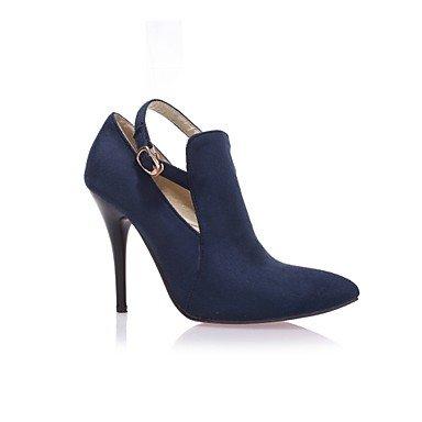 Chaussures Wsx & Plm Femme - Chaussures À Talons Hauts - Loisir / Bureau Et Travail / Casual - Talons - Stiletto - Similicuir - Noir / Bleu / Rouge / Noir