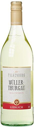 Falkenburg Müller-Thurgau Weißwein lieblich QbA (6 x 1 l)