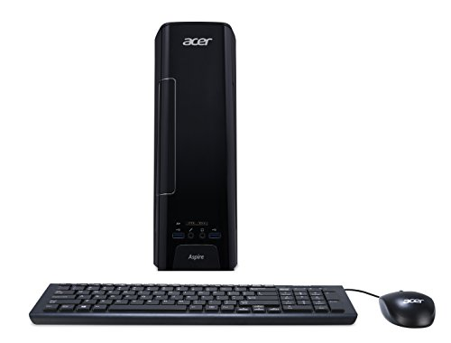 Acer Aspire XC-780 Desktop PC (Intel Core i5-7400, 8GB RAM, 128GB SSD, 1.000 GB HDD, Intel HD, DVD, Win 10) schwarz
