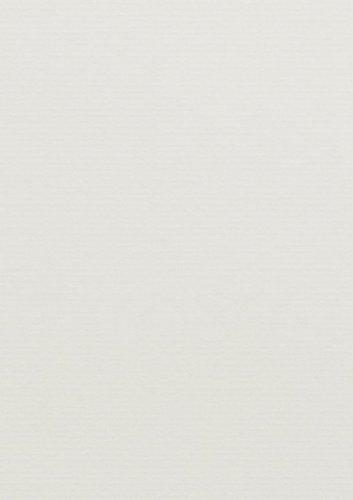 50 Stück // Artoz Serie 1001 Karten gerippt // 220g/qm // DIN A4, 297 x 210mm, hochwertig, ivory Qm-serie