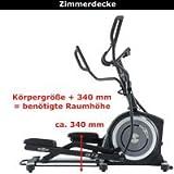 Maxxus Erwachsene CX 7.8 Crosstrainer, Schwarz, 1.89 x 1.02 x 1.675 mm -