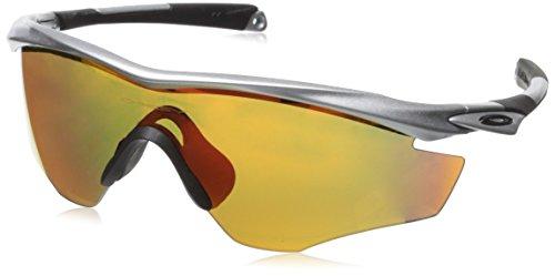 Oakley Herren Brille M2 Frame W/Fire Iridium Silver, One size