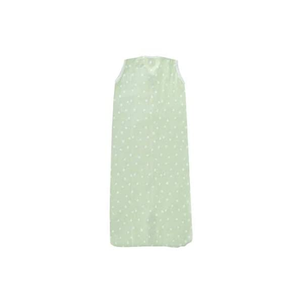 Little Lemonade – Saco de dormir para verano (70 cm, 70 cm), diseño de lunares, color verde
