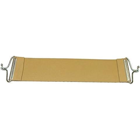 Pandoras Upholstery 1 pieza 60,96 cm de goma con correa de goma de repuesto para tapicería Pirelli Ercol gancho estilo, Beige