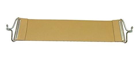 Pandoras Upholstery 24 cm en caoutchouc de rechange marque Ercol Sangle de tapissier de rechange Pirelli crochets Beige