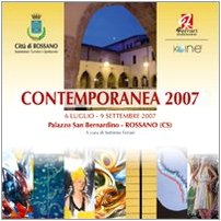 Contemporanea 2007. Catalogo della mostra. Ediz. illustrata