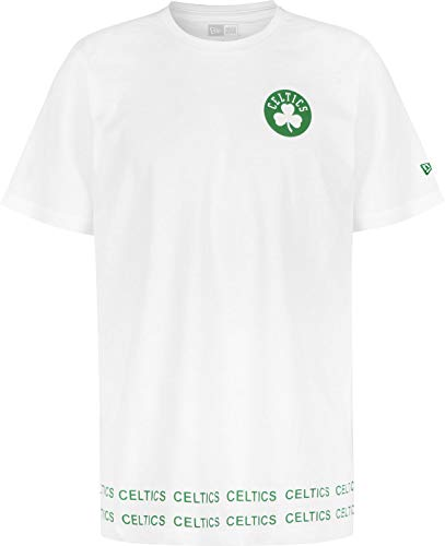 A NEW ERA Era NBA Team Wordmarc Boston Celtics Camiseta Optic White