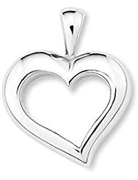 Amor Damen-Anhänger Herz 925 Sterling Silber rhodiniert 20 mm - 108034