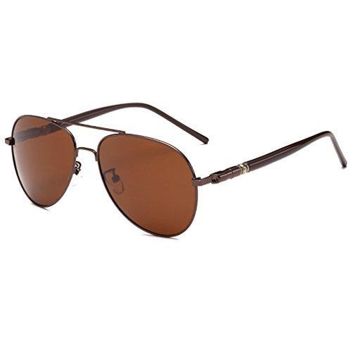 Rnow Verspiegelte Pilotenbrille für Herren, hochwertig, Klassiker, Militärstil, unisex Jungen...