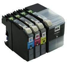 New 4x Ink Cartridges Replace to Brother LC129 LC125 Compatible For Printer Model (MFC-J6520DW J6720DW J6920DW)