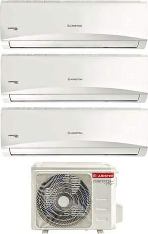 Climatizzatore 9000 + 9000 + 12000 Btu/h Trial Split Inverter con Pompa di Calore Classe A++/A++ Prios R32 Trial 80 XD0C-O