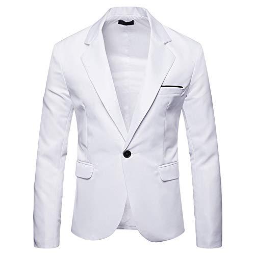 YOUTHUP Blazer Homme Slim Fit Formel Élégant Mode Moderne Costume d'affaires Mariage Bal