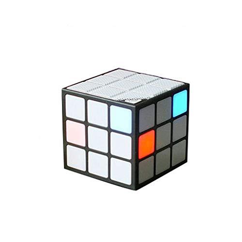 ZWD638 Cubo Rubik Colorido Led Altavoz Bluetooth Altavoz