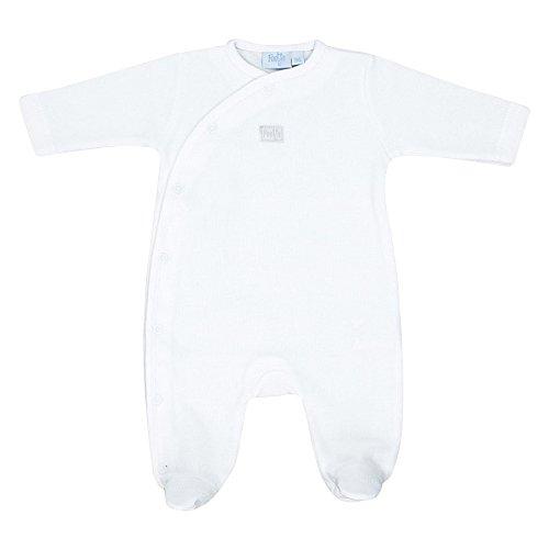 FEETJE Overall Baby Strampler, Größe 44, weiß