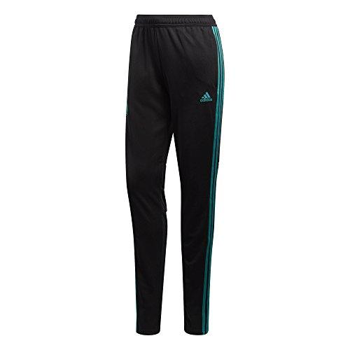 adidas Damen Dfb Training Pants Trainingshose, Black/Eqt Green s16, L