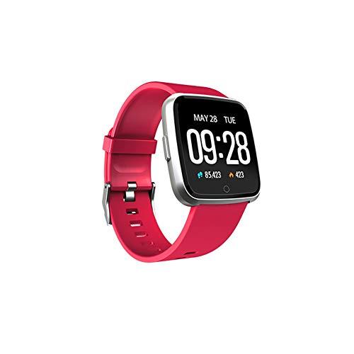 SLRR Fitness Schrittzähler, Pulsmesser, Farbdisplay Sport Armband Herzfrequenz Blutdruck Schlafüberwachung, Anruferinnerung, Smart Armband, Männer und Frauen