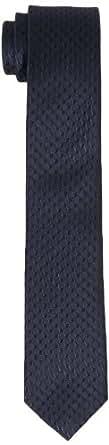 s.Oliver BLACK LABEL Herren Krawatte 12.402.91.6989, Einfarbig, Gr. One size, Blau (deep water)