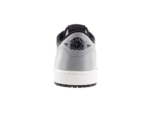 Nike Air Jordan 1 Retro Low Og, Chaussures de Sport Homme, Taille Multicolore - Negro / Gris (Black / Medium Grey-Sail)